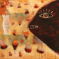 Fishbowl by Suarnata - Original Art and Great Prices