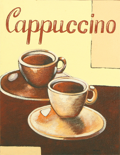 Cappucino by Pastika is an original painting for sale.