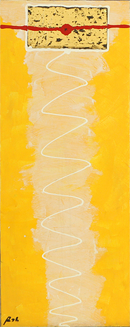 Golden Helix by Rah is an original painting for sale.