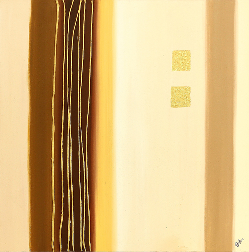 Neutral Lines 3 by Eka is a painting that will work with a modern interior design