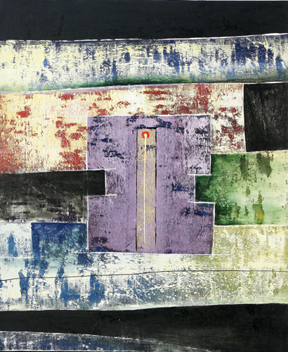 Closing the Doors by Ketut Buncing Original Fine Art from Ketut Rudi