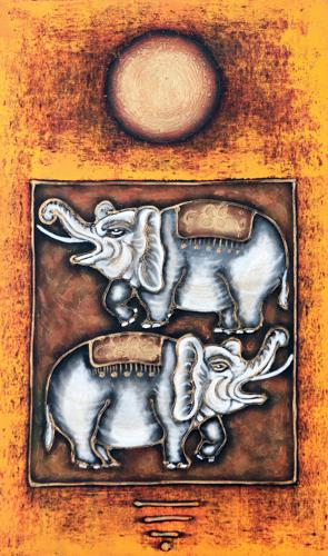 Alleluia Chorus by Wayan Danas Original Fine Art from Ketut Rudi