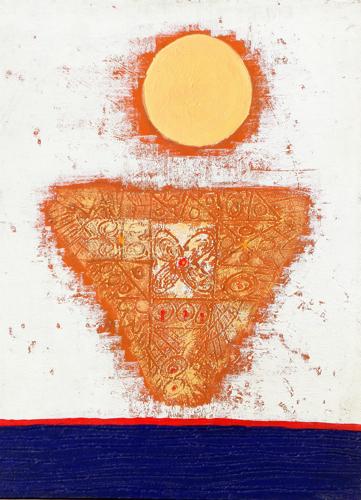 Under the Sun by Komang Budiasa Original Fine Art from Ketut Rudi