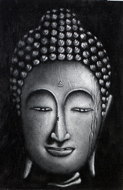 Shakyamuni by Yanto Original Fine Art from Ketut Rudi