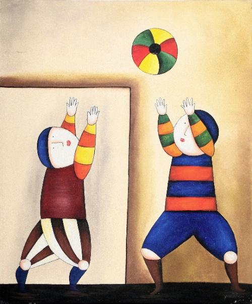 Catch by Jambrut Original Art