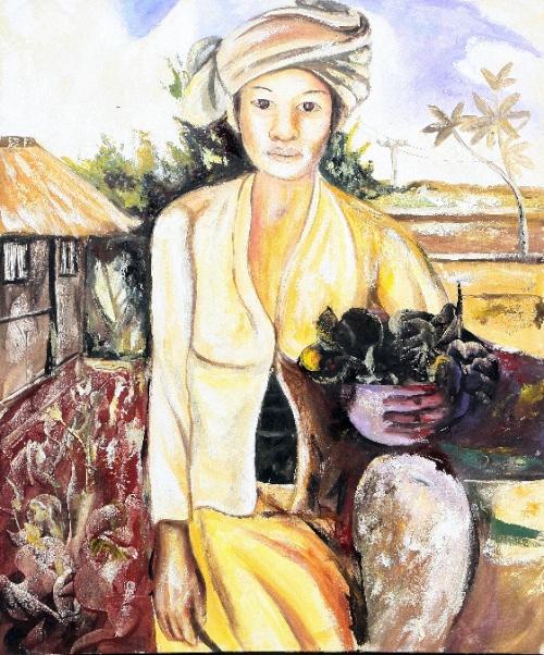 The Kitchen Garden by G. Sri Original Art