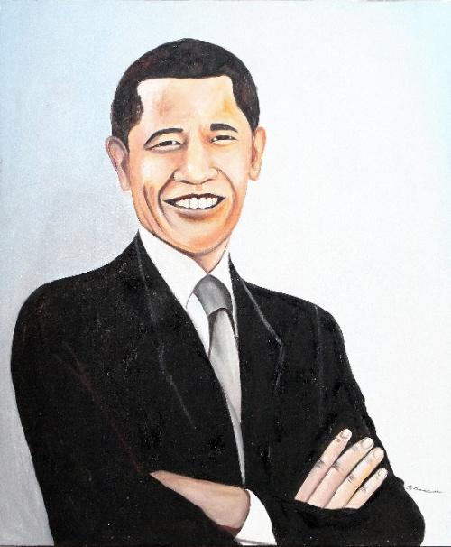 The President by G. Sri Original Art
