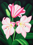 Lilies by Syah Original Art