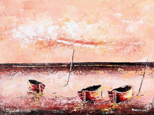 Shoreline by Ardika Quality Fine Art from Bali, Indonesia - Wayan Arnaya