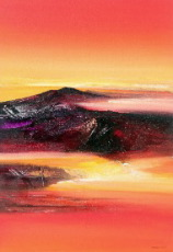 Mountains by Ketut Quality Fine Art from Bali, Indonesia - Wayan Arnaya